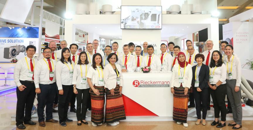 Rieckermann Booth Representative ALLPACK INDONESIA 2019