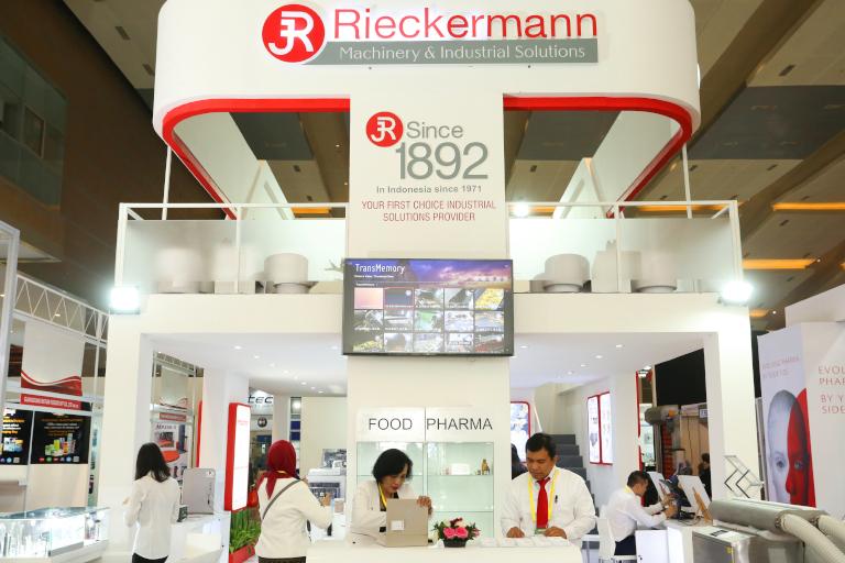 Rieckermann Booth ALLPACK INDONESIA 2019