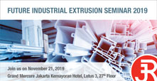 Future Industrial Extrusion Seminar 2019 Rieckermann Banner