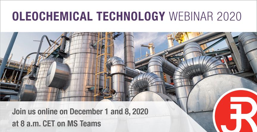 Oleochemical Technology Webinar 2020 Event Banner