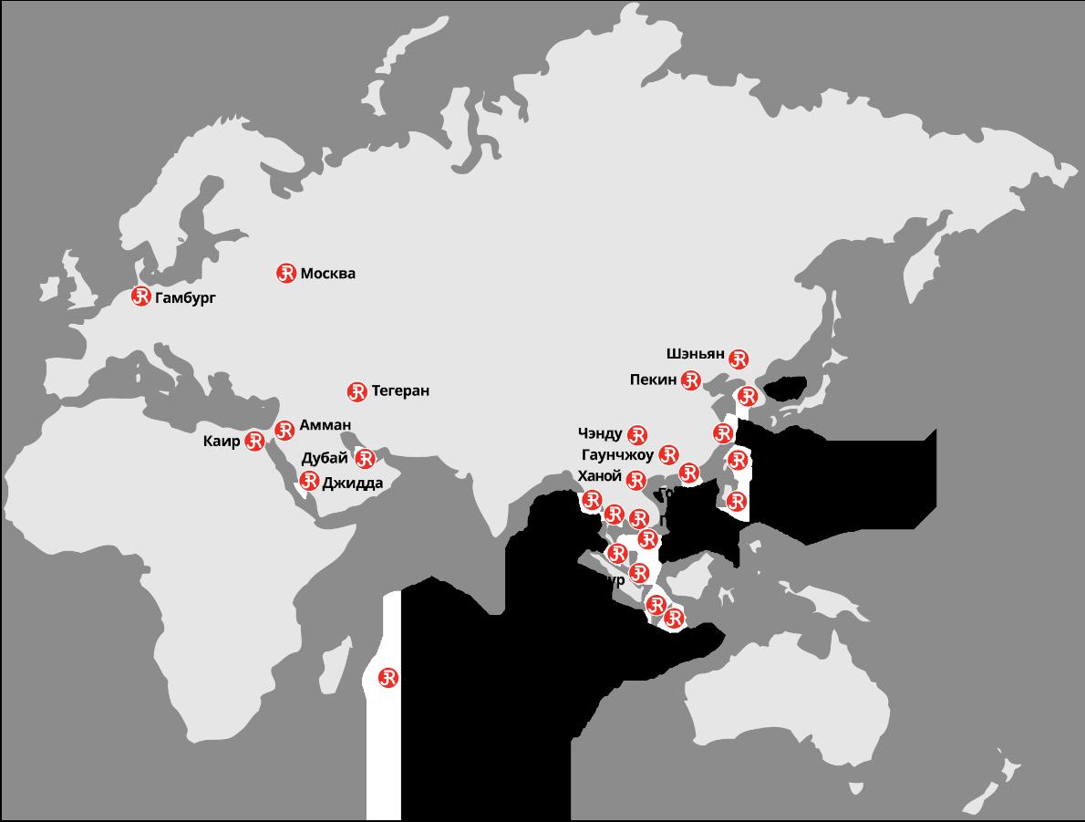 Rieckermann Worldmap RU