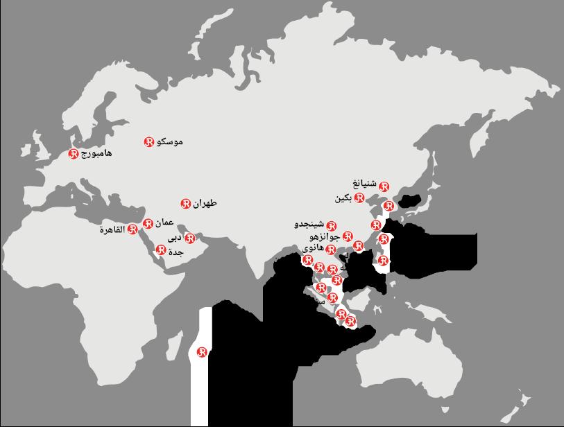 Rieckermann Worldmap AR