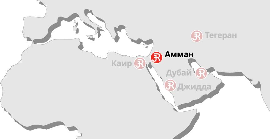 Rieckermann Local Map - Amman