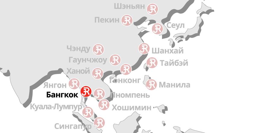 Rieckermann Local Map - Bangkok