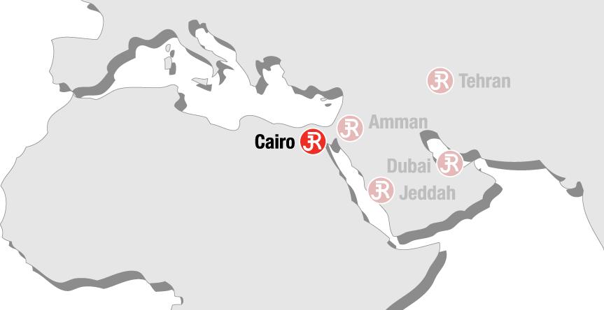 Rieckermann Local Map - Cairo