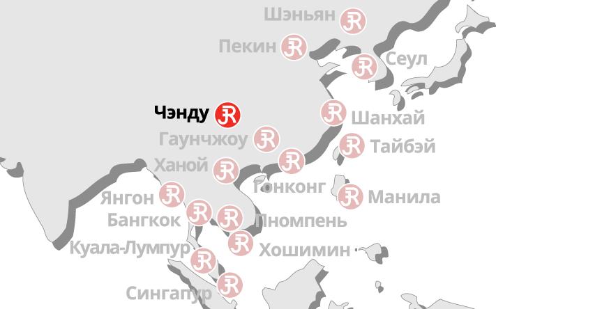 Rieckermann Local Map - Chengdu