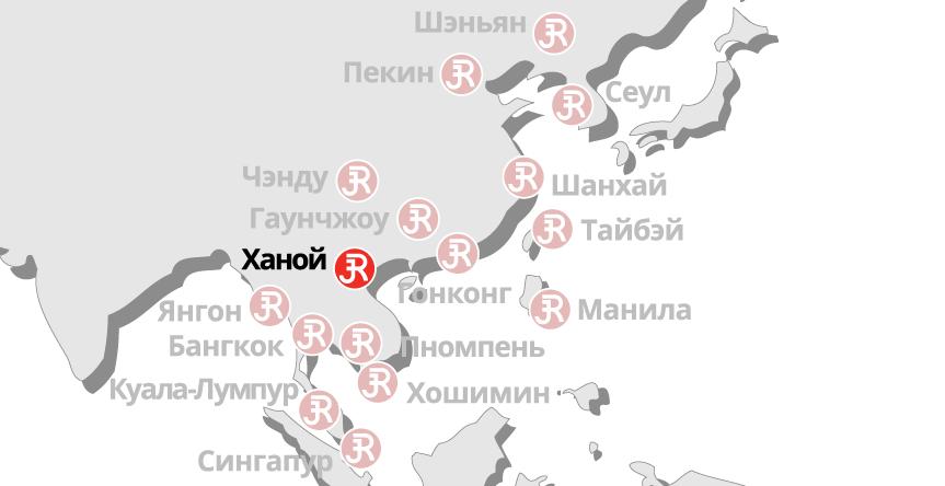 Rieckermann Local Map - Hanoi