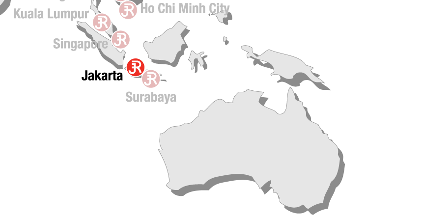 Rieckermann Local Map - Jakarta