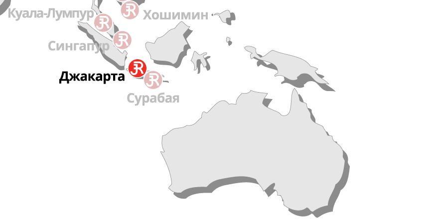 Rieckermann Local Map - Jakarta