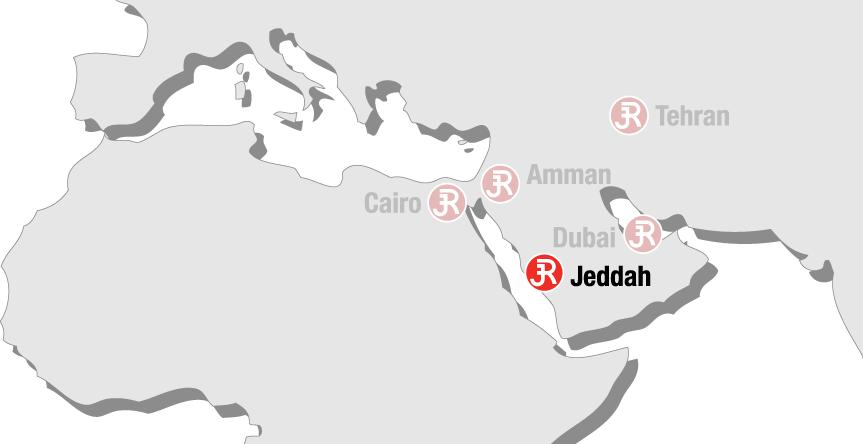 Rieckermann Local Map - Jeddah