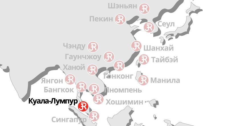 Rieckermann Local Map - Kuala Lumpur