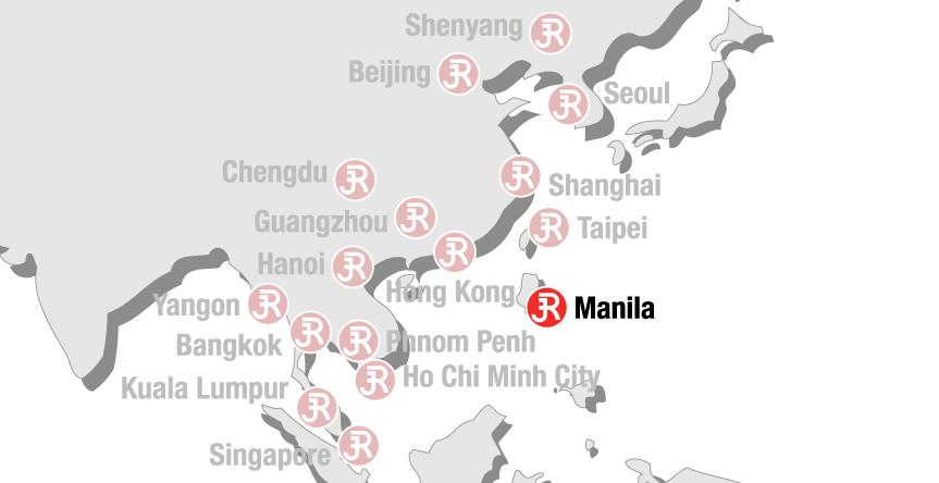 Rieckermann Local Map - Manila