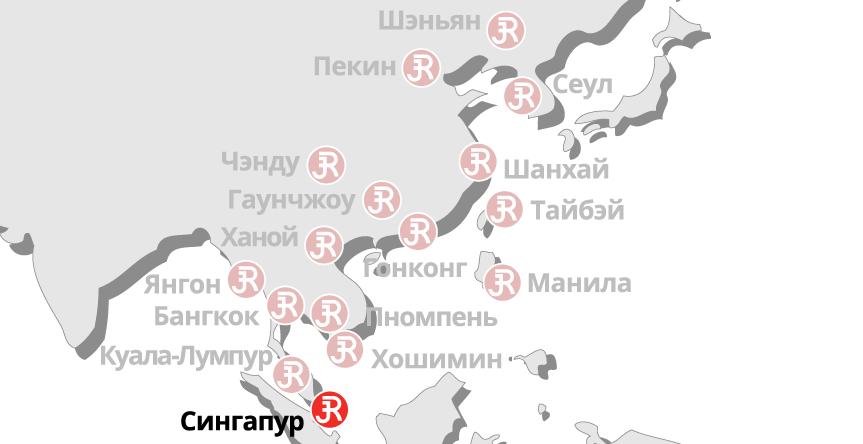 Rieckermann Local Map - Singapore