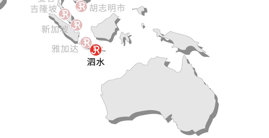 Rieckermann Local Map - Surabaya