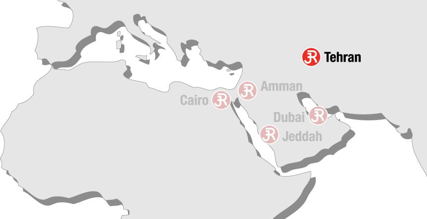Rieckermann Local Map - Tehran