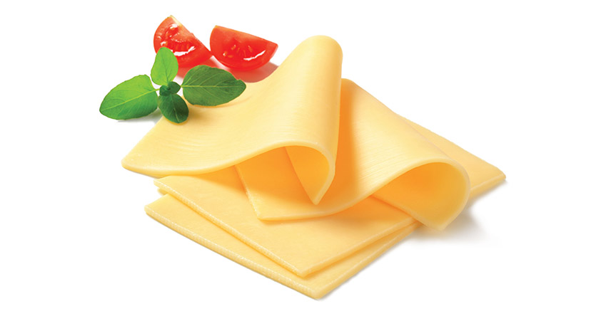 Processed cheese banner