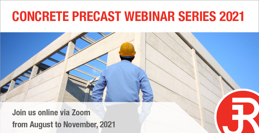 Concrete precast webinar series banner
